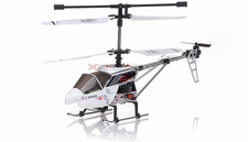 The New 3 Channel Alloy E-Series Hunt Eagle Co-Axial Helicopter (White)