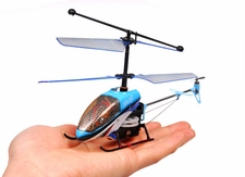 9070 Double Horse 3 Channel Indoor Co-Axile Ready to Fly Mini Shark Helicopter RTF