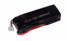 Li-Poly Battery - 15C 1800mah 11.1V +T for 450 RC Helicopters