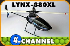 LYNX-380XL 6 Channel 3D CCPM RTF Helicopter ColcoLynx