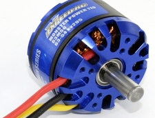 MonsterPower 110 (295kv) Outrunner Brushless Motor BrushlessMotor_63M56