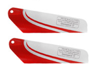 Bottom Blade (2 pcs) Part-777-112-A-Red