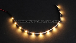HobbyPartz Warm-White 12 LED Lights 79P-10189