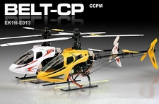Newest Model Esky Belt CP RTF 6-Channel RC Helicopter Ready-to-Fly Souped-Up Version! (1800mah 20C Li-Poly, Brushless, ESC, Charger/Adapter!) (Yellow)
