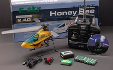 2.4Ghz Esky Honey Bee 4-Channel RC Helicopter RTF  (include: Helicopter, 2.4G, Charger, RTF)