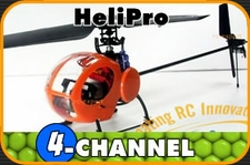 HeliPro 4-Channel RTF Electric LiPo-Ready Radio Remote Controlled Helicopter