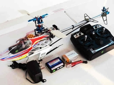 Walkera Dragonfly 68B Radio Remote Controlled Brushless RC Helicopter  H68B