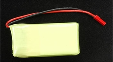 7.4V 1250mAh LiPo Battery HM-010-Z-09