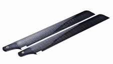 288 Exceed-RC G2 Carbon Fibre Rotor Blades Compatiable w/ Exceed G2 + Walkera DragonFly 35 & 36 66P51_CarbonFiberBlade288mm