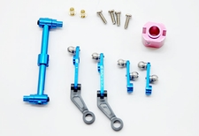 CNC Aluminum Alloy Main Blade Controlling Set Upgrades for Exceed-RC G2 / H36 50H08-81