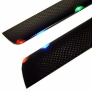 Carbon Fiber Tri-Light Night Blades for 400 size RC Helicopter NightBlades_290mm
