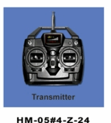 4-Channel Radio Transmitter HM-5-4-Z-24