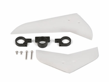 Vertical & horizontal tail blade set (white) EK1-0545