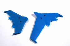 Vertical & horizontal tail blade set(blue) EK1-0442L