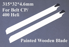 315*32*4.6mm For Belt CP Helicopter Painted Wooden Blade 02P07-PaintBlade