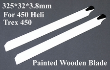 325*32*3.8mm For 450 Helicopter/ Trex 450 Painted Wooden Blade 02P09-PaintBlade