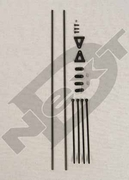 Curtis Youngblood Boom support rod set ND-YR-AS002
