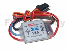 Gaui ESC 12A with Connectors(For BL Motor) Gaui-ESC-12A_923122