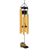 John Deere Skid Steer Wind Chime