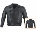 Milwaukee Leather Premium Naked Cowhide Mens Motorcycle Jacket 18N from Motobuys.com