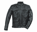 Milwaukee Leather Premium Naked Cowhide Mens Motorcycle Jacket 25N from Motobuys.com