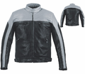 Leather & Krome Premium Leather Men�S Motorcycle Jacket from Motobuys.com