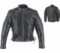 Leather & Krome Premium Leather Men�S Scooter Jacket -10 from Motobuys.com