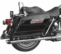 "Cycle Shack 3"" Mufflers (Dresser Models) from Motobuys.com"
