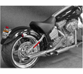 "Cycle Shack 1 - 3/4"" Muffler And Drag Pipes (Softail Models) from Motobuys.com"