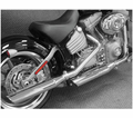 "Cycle Shack 4"" Oval Mufflers (Softail Models) from Motobuys.com"