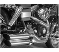 "Cycle Shack 4"" Oval Mufflers (Dyna Models) from Motobuys.com"