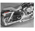 "Cycle Shack 1 - 3/4"" Muffler And Drag Pipes (Sportster Models) from Motobuys.com"