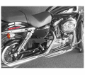 "Cycle Shack 2"" Muffler & Drag Pipes (Sportster Models) from Motobuys.com"
