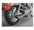 "Cycle Shack 4"" Oval Mufflers (Sportster Models) from Motobuys.com"