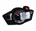 KOSO GP STYLE MULTI-FUNCTION MOTORCYCLE GAUGE. FREE SHIPPING. LOWEST PRICE!