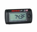 KOSO-27-5714 LCD MOTORCYCLE TEMPERATURE GAUGE