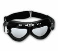 Emgo Black One-Piece Lens Goggles from Motobuys.com