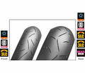 Bridgestone Bt-003Rs Rear Radial Tire from Motobuys.com
