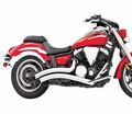 FREEDOM PERFORMANCE - HONDA METRIC CRUISER CHROME EXHAUST - Street 2011 - Lowest Price Guaranteed! FREE SHIPPING !
