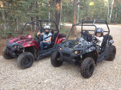 Side By Side Utv >> Cyclone Mxu 170 Zx Utv Side X Side Youth Size Model Free
