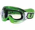 Utopia Slayer Pro Mx Goggles Green/Black from Motobuys.com