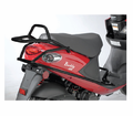 Genuine Buddy Blur Accessories - Black Cowl Protectors With Passenger Footrests - Swd - from Motobuys.com