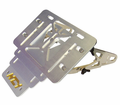 Ncy License Plate Accessories - Adjustable License Plate Holder - Swd - from Motobuys.com