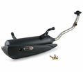 Exhausts Ncy Performance Systems - Ncy Zuma125 Stock Exhaust Pipe - Swd - from Motobuys.com