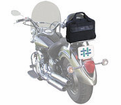 Bike Accessories - Dowco Iron Rider Motorcycle Luggage Commuter Briefcase from Motobuys.com