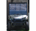 Slasher UTV Fold Down Windshield from Motobuys.com