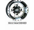 "Ss112 Wheel Kits For 12"" Interco Swamp Lite from Motobuys.com"