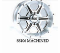 "Ss106 Wheel Kits For 12"" Super Swamper Mud from Motobuys.com"