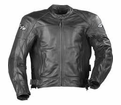 Joe Rocket Mens Jacket - Sonic 2.0 Leather Tall Size Black from Motobuys.com