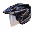 GMAX GM27 FLAMES HELMET - GMAX 2012  -  Lowest Price Guaranteed! FREE SHIPPING !